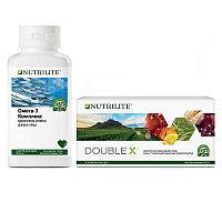 NUTRILITE™ DOUBLE X на 31 день + NUTRILITE™ Омега-3 комплекс