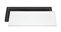 Поднос для отельной косметики акриловый черный (белый)