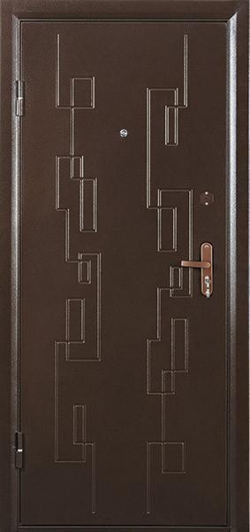 Дверь металлическая стальная  входная Сити 2