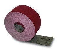 Шкурка на бумажной основе в рулонах