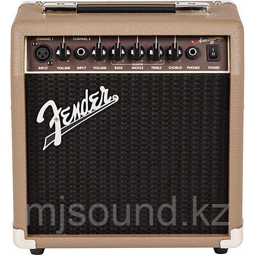 Комбоусилитель Fender ACOUSTASONIC 15