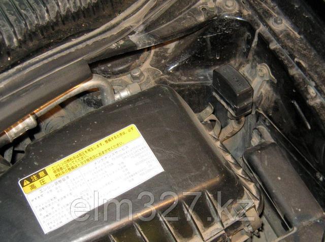 Toyota 22-pin - Расположение разъема в подкапотном провстранстве.