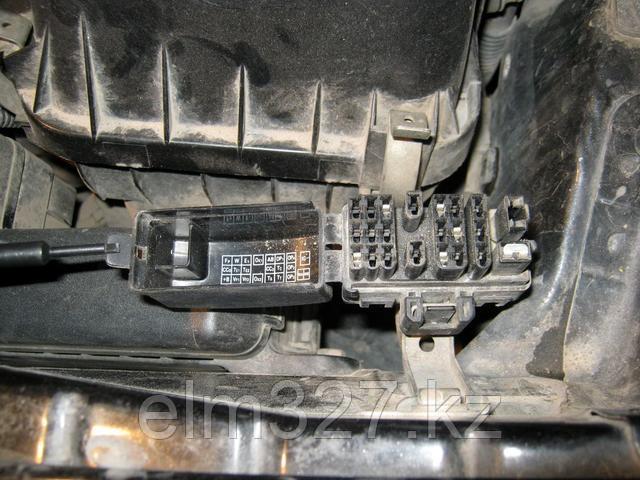 Toyota 22-pin - Внешний вид диагностического разъема.