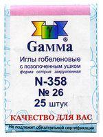 Игла гобеленовая Gamma №26, 1 шт.