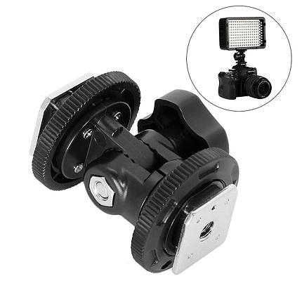 Башмак-адаптер (металл) для фото и видео-аксессуаров , фото 2
