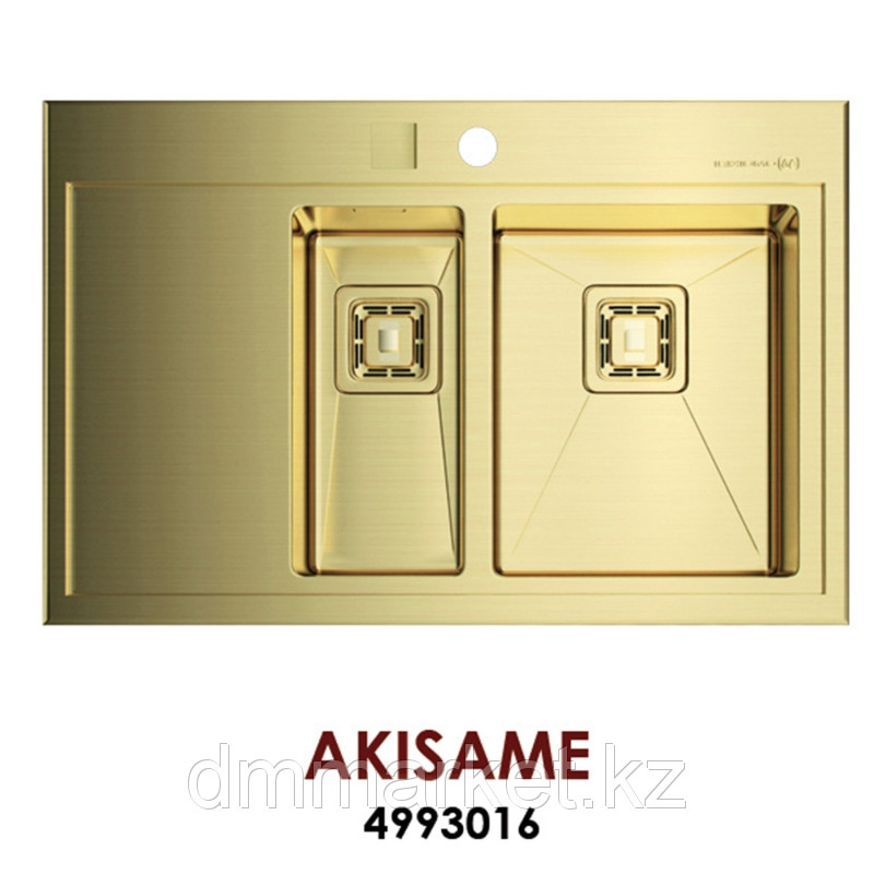 Кухонная мойка OMOIKIRI Akisame OAK-78-2-IN-LG
