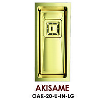Кухонная мойка стальная OMOIKIRI Akisame OAK-20-U-IN-LG