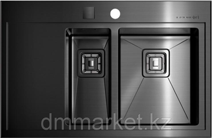 Кухонная мойка OMOIKIRI Akisame OAK-100-2-IN-GM