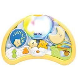 Ночной музыкальный светильник Weina Мишки на воздушном шаре