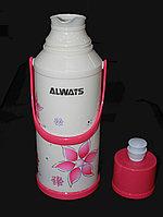 """Термос со стеклянной колбой """"Always"""", 2л, розовый"""
