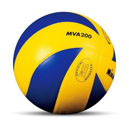 Волейбольный мяч Mikasa MVA 200 реплика, фото 2