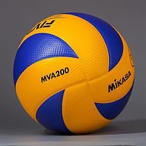 Волейбольный мяч Mikasa MVA 200 original, фото 3