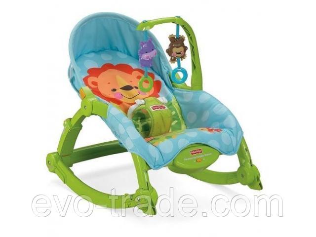 """Кресло-качалка """"Львёнок"""" от Fisher Price"""