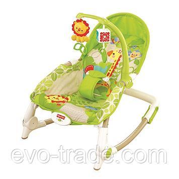 "Кресло-качалка ""Тропический лес"" от Fisher Price"""