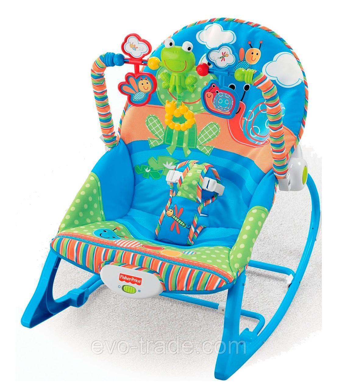 """Кресло-качалка """"Лягушёнок"""" от Fisher Price"""