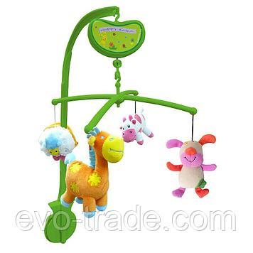 """Музыкальный мобиль """"Мои друзья"""" от Biba Toys"""