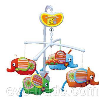 """Музыкальный Мобиль """"Слоники"""" от Biba Toys"""