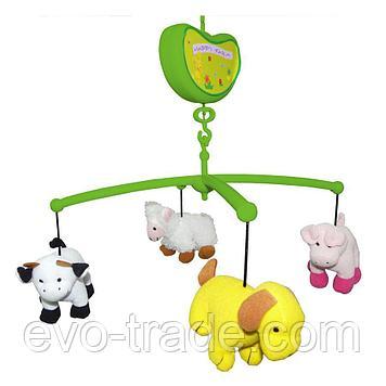 """Музыкальный мобиль """"Счастливая ферма"""" от Biba Toys"""