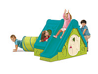Детский игровой домик с горкой Funtivity Playhouse от Keter