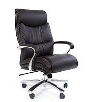 Кресло офисное для руководителя CHAIRMAN 401 кожа натуральная