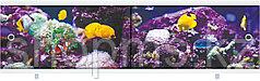 """Экран под ванну """"Ультра легкий"""" АРТ 1,68 м """"Подводный мир"""""""