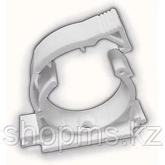 Кронштейн пластиковый одинарный ф25 с защелкой