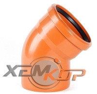 Отвод канализационный 400*30