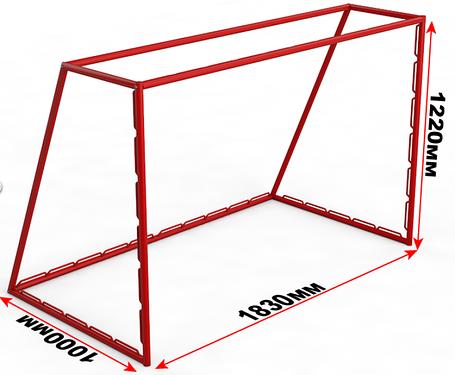 Ворота хоккейные ЭКОНОМ, фото 2