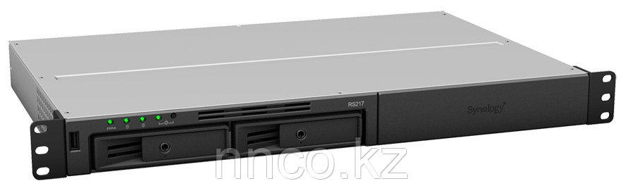 Synology RS217   2xHDD 1U NAS-сервер «All-in-1»