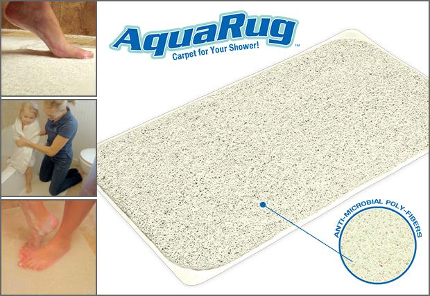 Противоскользящий впитывающий коврик для ванной Aqua Rug - фото 2