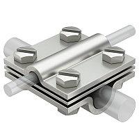 Соединитель проволоки крестовой 252 8-10x16 V4A, фото 1