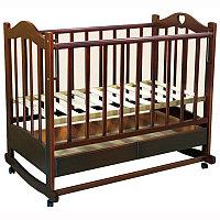 Кровать детская Ведрусс Лана-2 темный орех