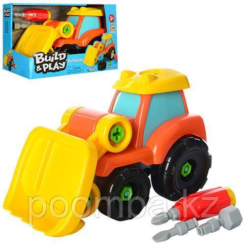 Конструктор Build & Play - Бульдозер