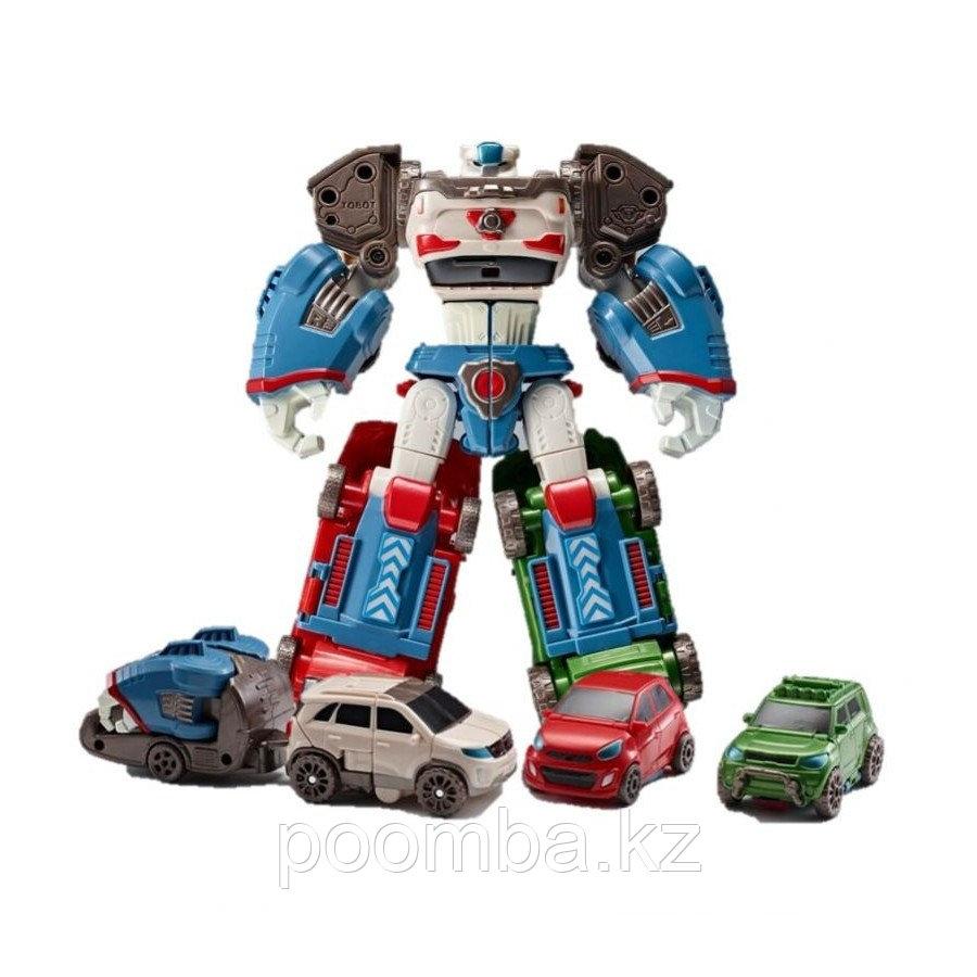 """Робот-трансформер """"Мини-Тобот"""" - Дельтатрон"""