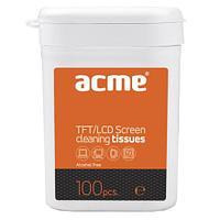 Чистящее ср-во для техники IT Acme CL02 100шт.