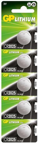 Батарейка литиевая GPCR2025