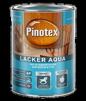 Лак на водной основе Pinotex Lacker Aqua для мебели и стен