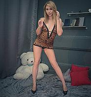 Леопардовый пеньюар