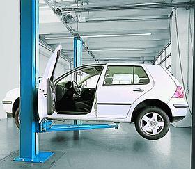 Автоподъёмник двухстоечный электромеханический NUSSBAUM Smart lift 2.30SL