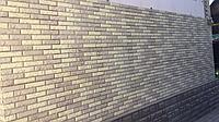 """Фасадная облицовочная бетонная панель - """"каменный кирпич"""" старый кирпич"""