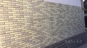 """Фасадная облицовочная бетонная панель - """"каменный кирпич""""  старый кирпич, фото 2"""
