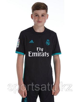Реал Мадрид футбольная форма детская 2017-18 гостевая (майка+шорты)