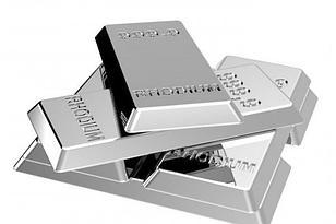 Серебро с родиевым покрытием.