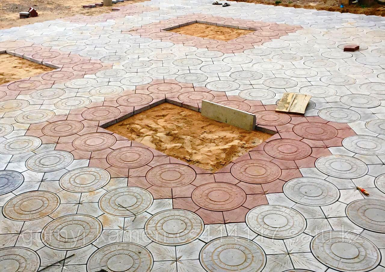 Брусчатка тротуарная плитка - Номад