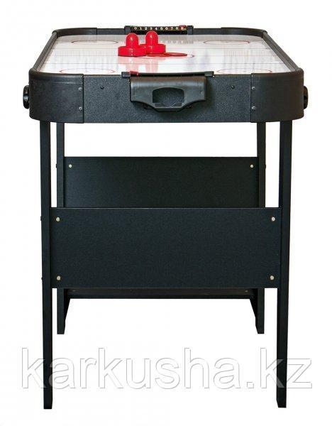 Аэрохоккей «Jersey» 4 ф (122 х 60 х 76,5 см, черный, складной)