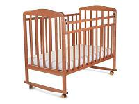 Кроватка СКВ-Компани Митенька 160117 Brown