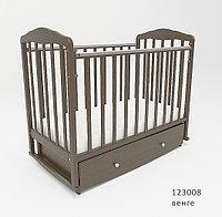 Кровать для новорожденных СКВ Березка 123008 Венге