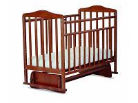 Кроватка СКВ-Компани Митенька 164007 Nut-Brown