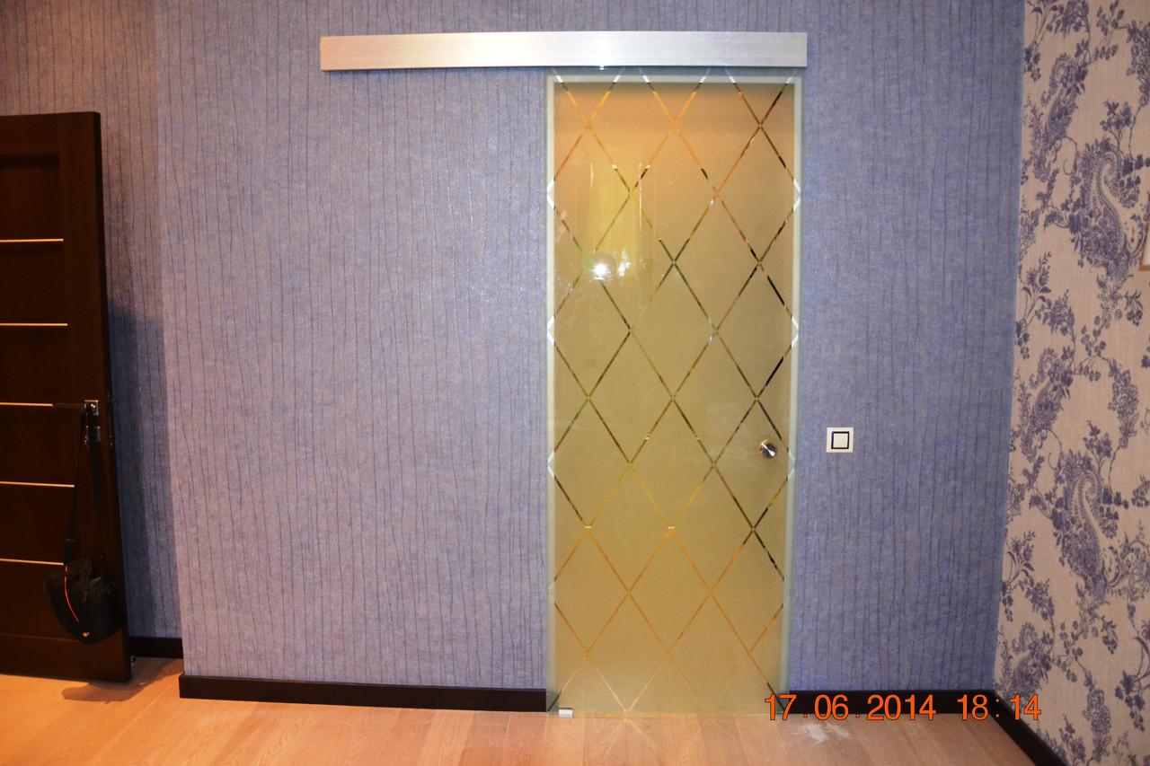 Двери стеклянные для квартир и коттеджей