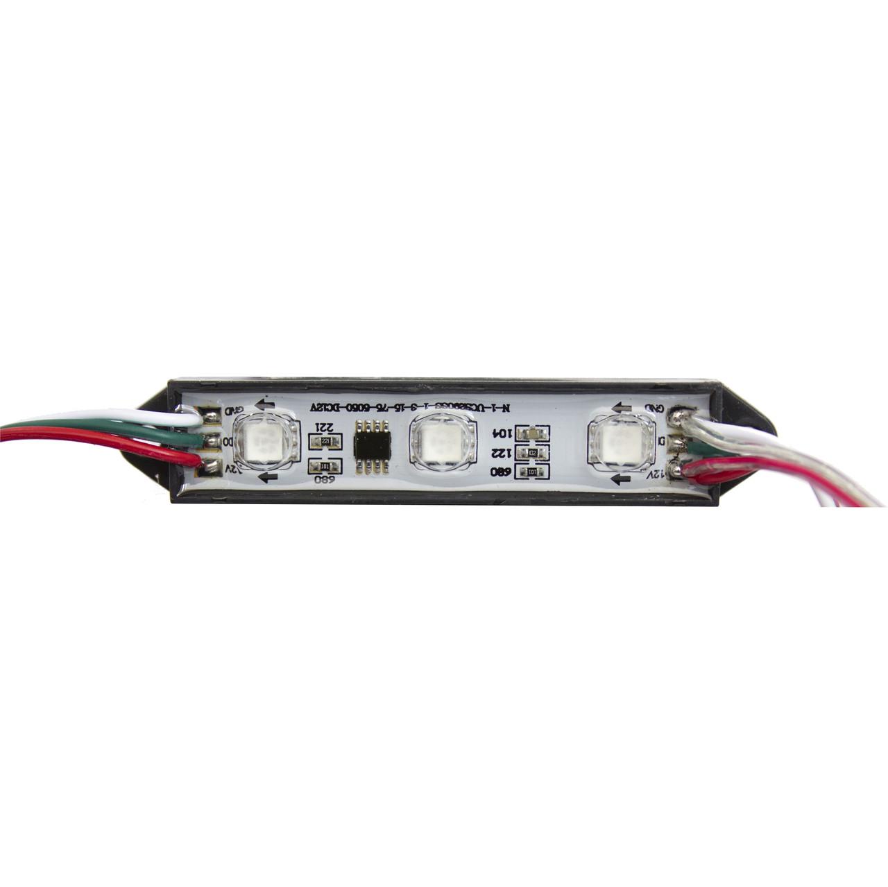 Программируемые светодиодные модули RGBV (IP67) 0,75W